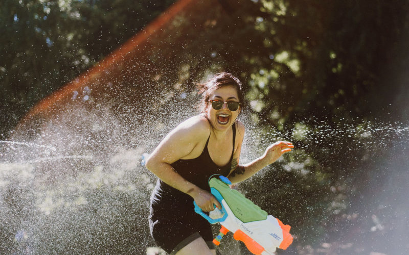 Sixth Annual Water Gun Fight