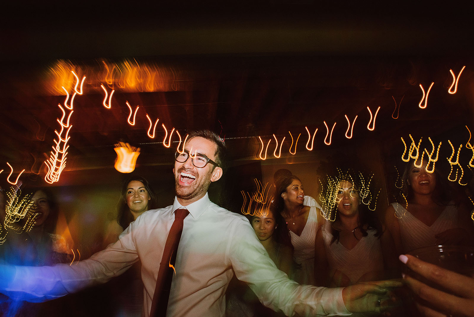 Groom on the dance floor | Portland Castaway Wedding