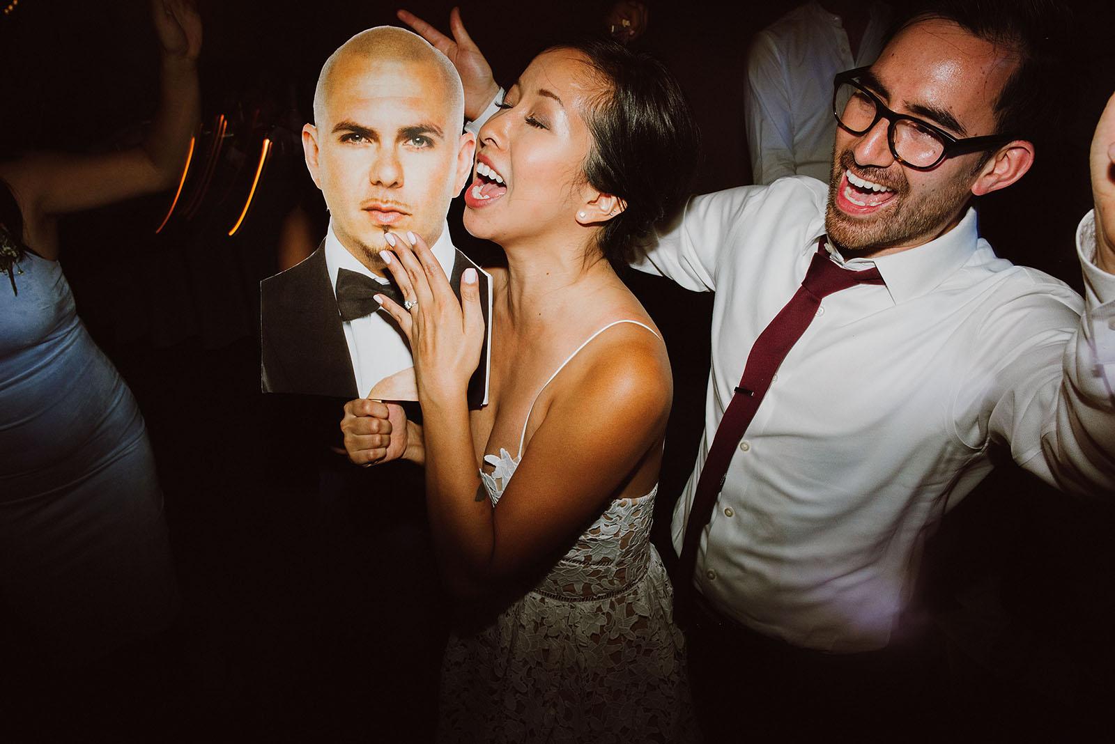 Bride and Groom on the dance floor | Portland Castaway Wedding