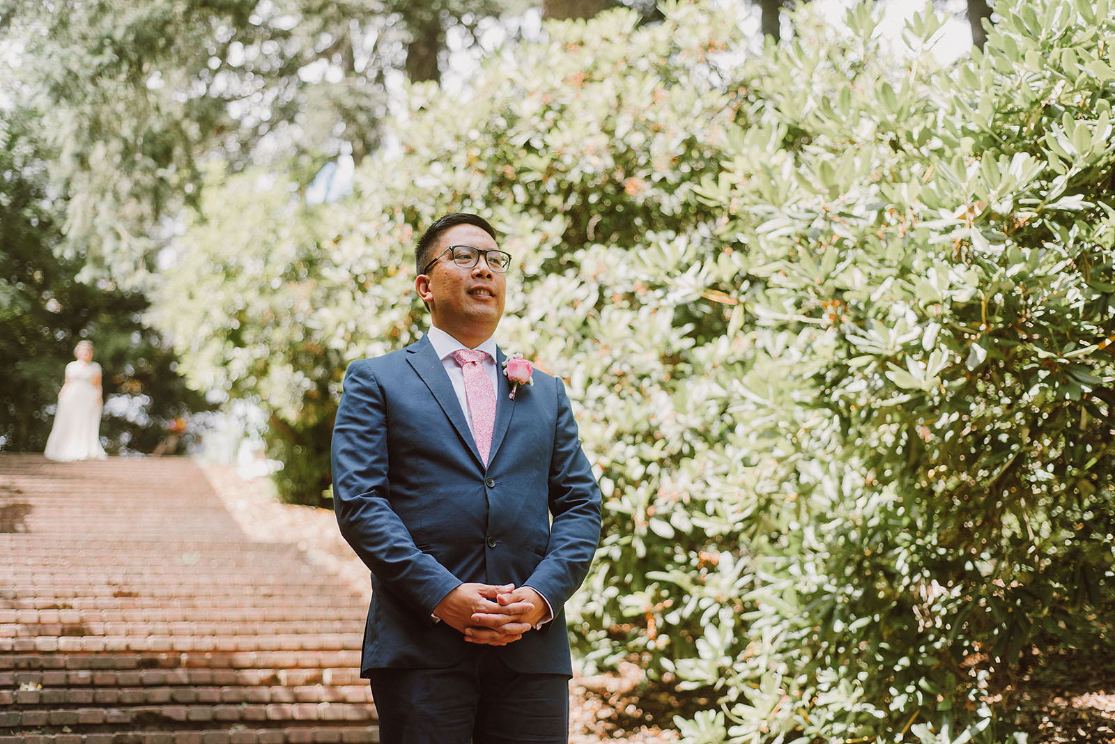 First Look in Laurelhurst Park | Downtown Portland Elopement