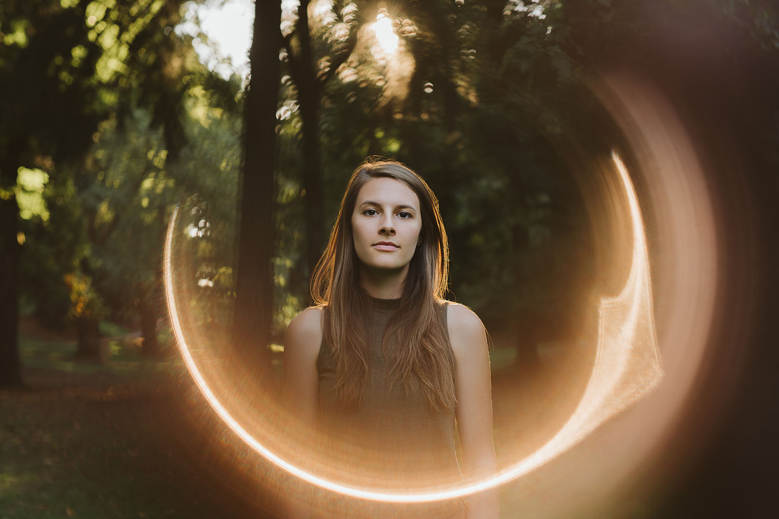 Portrait of Singer/Songwriter Robin Bacior - Portland Band Photographer
