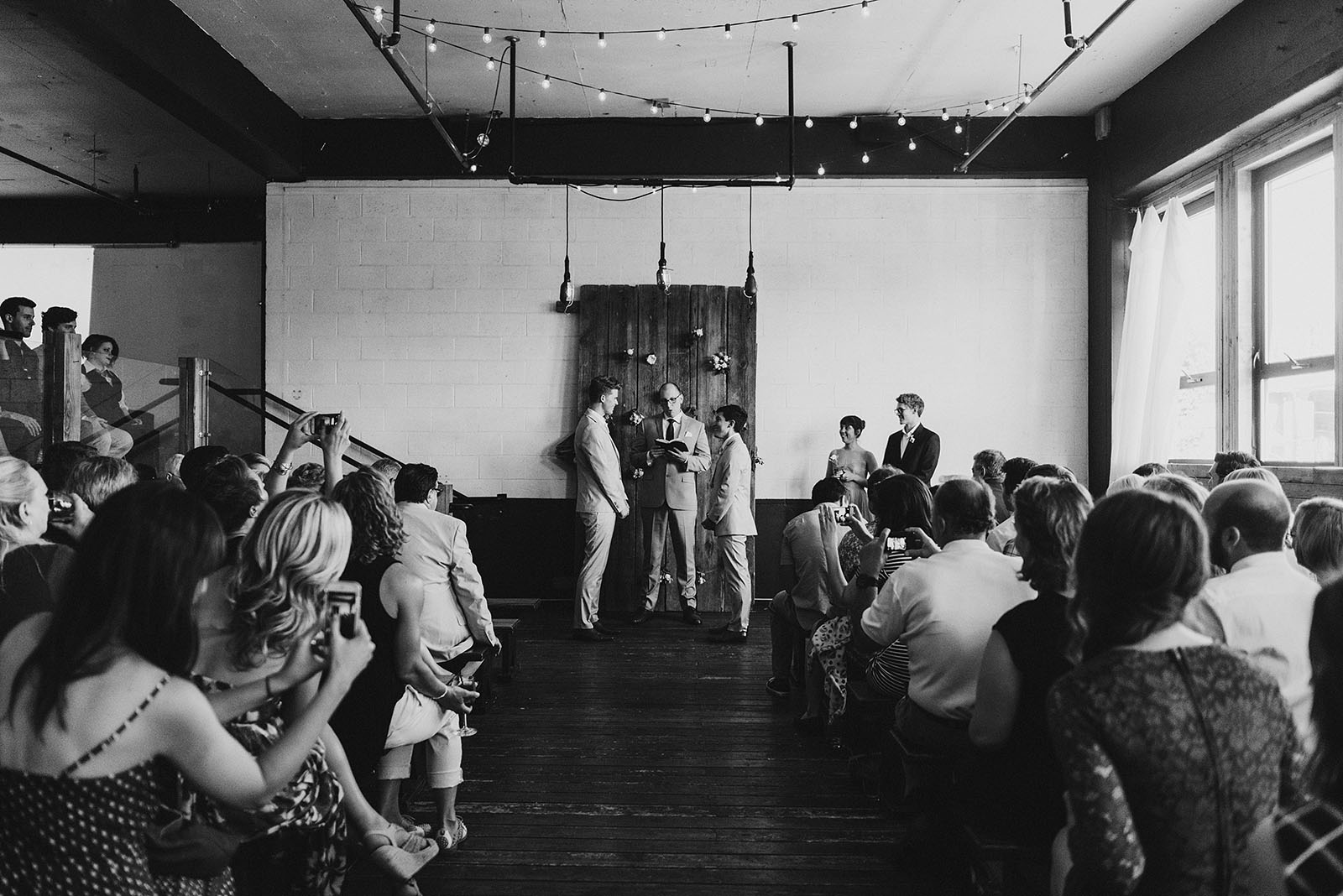 Union Pine wedding ceremony