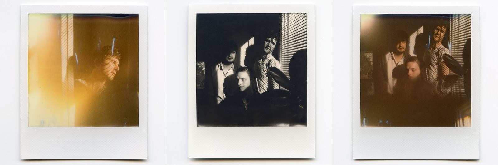 Portland Music Photographer - Polaroids of the band Lorain