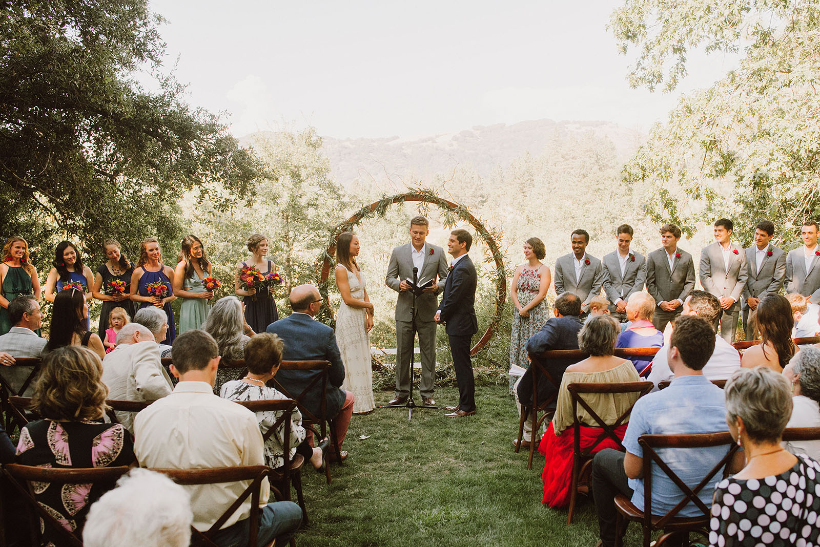 Sacred Mountain Retreat Wedding Ceremony