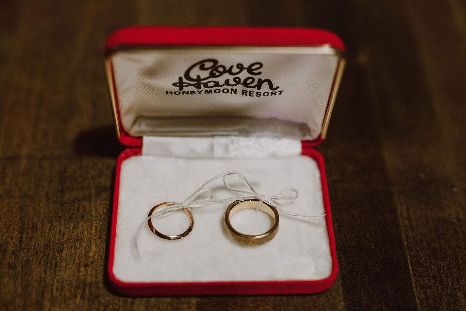 Custom rings by Better Late Than Never - Intimate Restaurant Wedding in Portland, OR