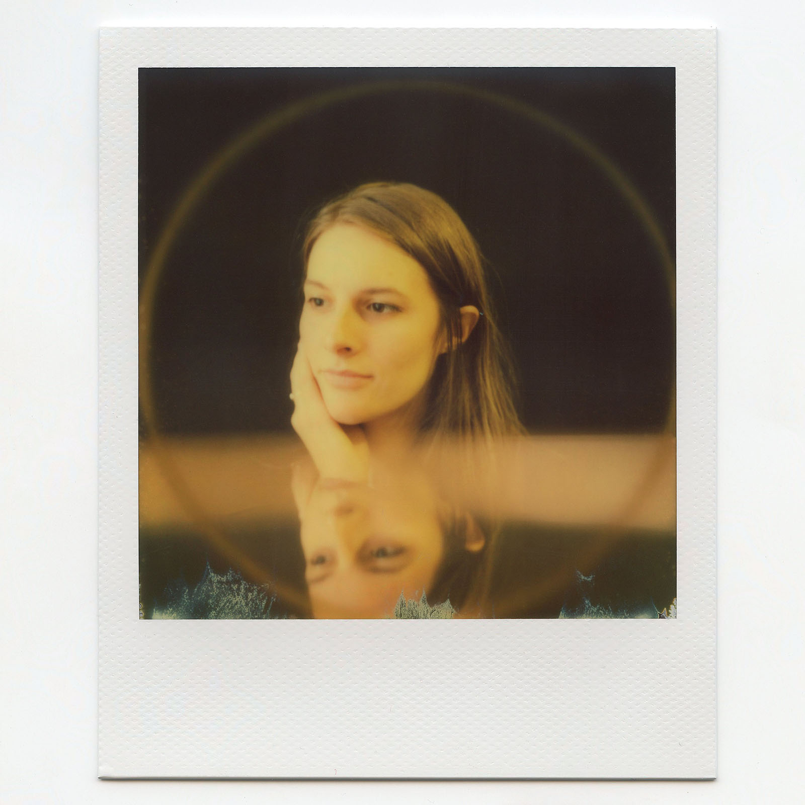 Polaroid photo of Robin Bacior - Light It Moved Me
